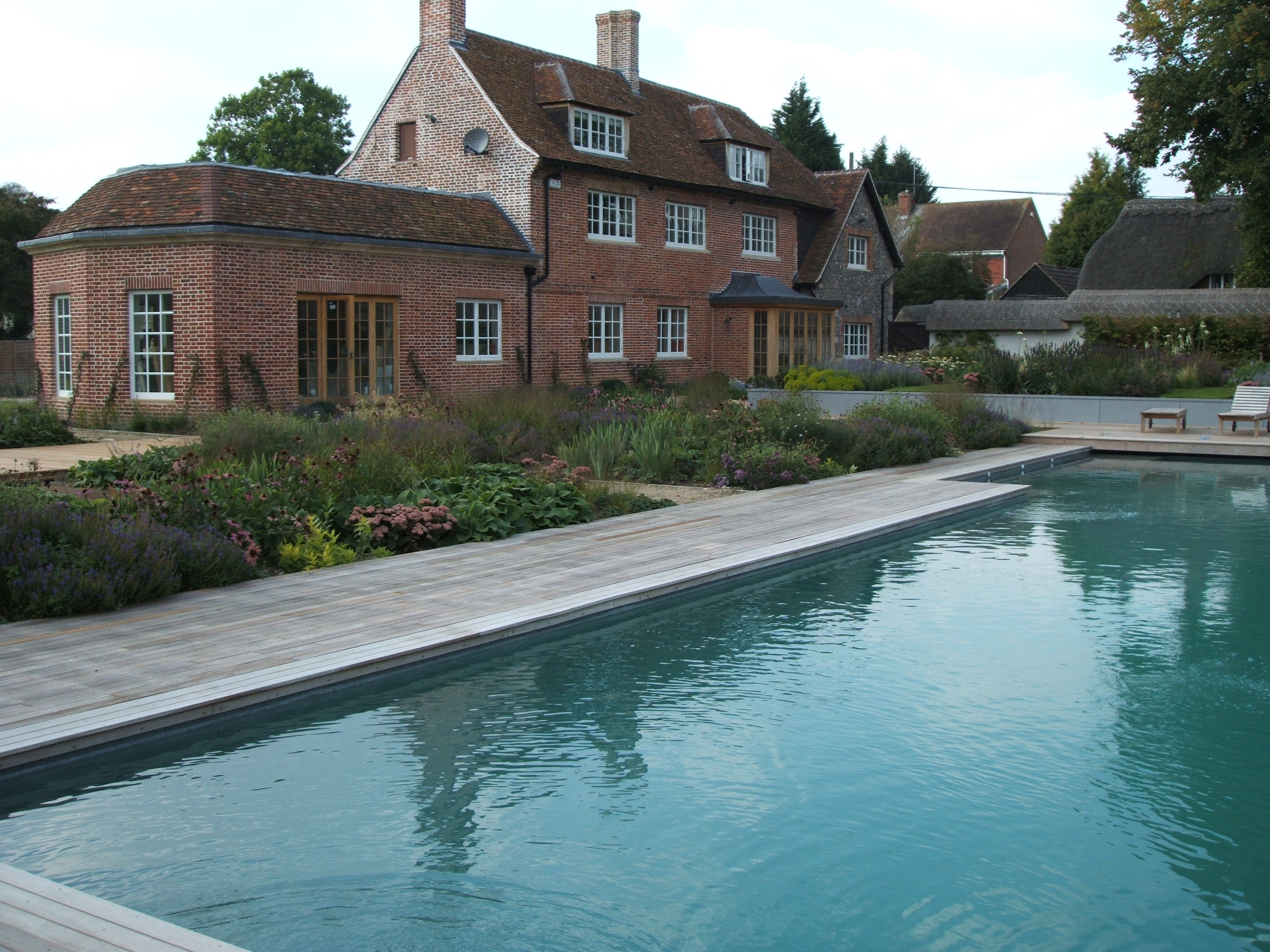 Outdoor Pool Wiltshire Brickell Pools